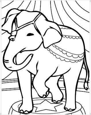 Fantastisch Zirkus Elefant Malvorlagen Bilder - Ideen färben ...
