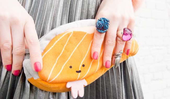 kawaii, sushi bag, japanese fashion
