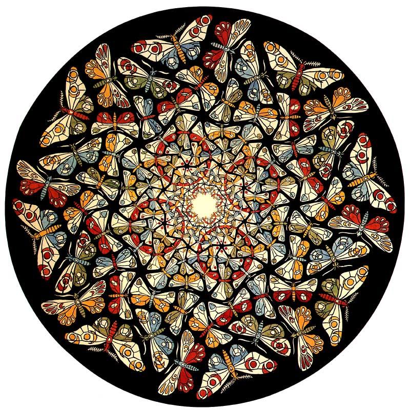 Hella heaven tessellation or tiling by m c escher for Escher metamorfosi