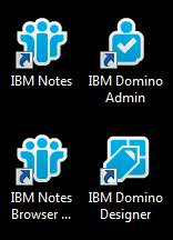 IBM Notes icons
