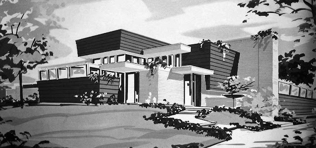 The Mid moreover Pictures Of A Metal Buildings Converted Into Homes besides Backlund House together with Vintage Modern Images Architecture further 640 family room exterior from northwest 2. on mid century modern homes spokane