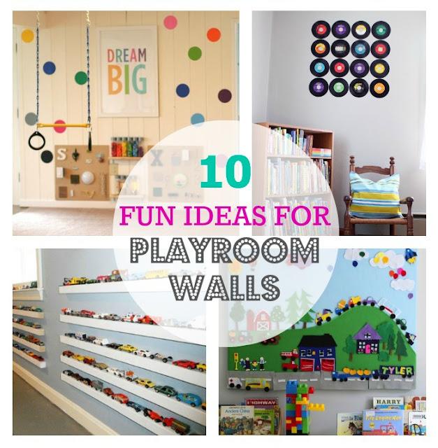 Thrive 360 Living 10 Fun Ideas For Playroom Walls