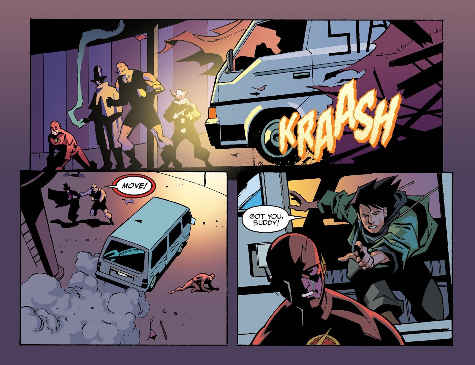 The Flash: Season Zero [I] Issue #6 #6 - English 6