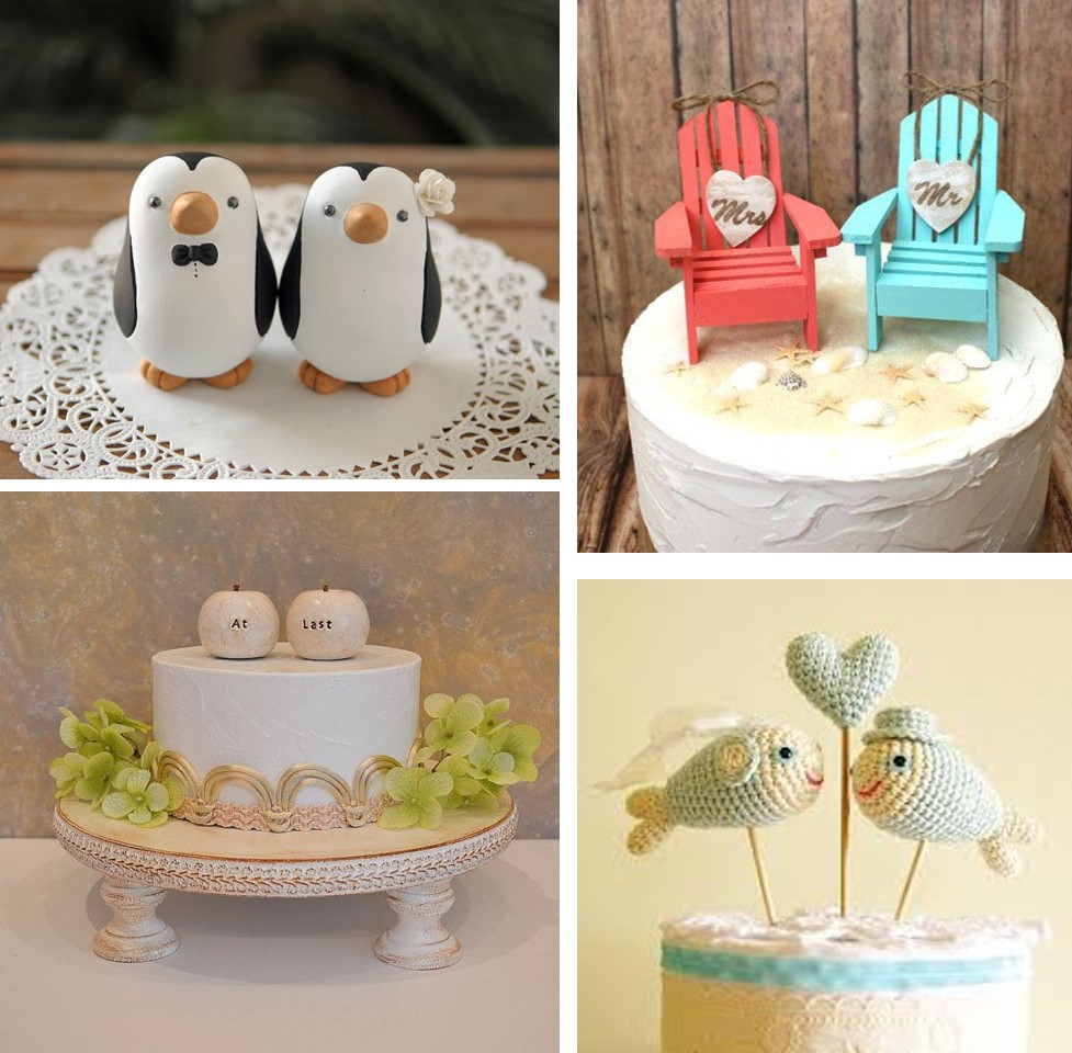 Toppers originales para tartas
