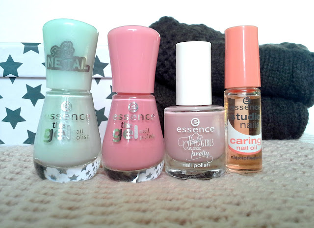 essence the gel nail polish, 49 turn the lights on! 13 forgive me, 04 just happy! Happy Girls are pretty, nail caring oil