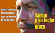 ¡Justicia en el caso de Sabino Romero! ¡No a la impunidad!