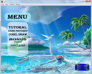 Contoh tentang penbuatan CD INTERAKTIF.,silahkan download disini