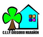 """CEIP """"Gregorio Marañón"""" Pincha en el dibujo y verás nuestra página web."""