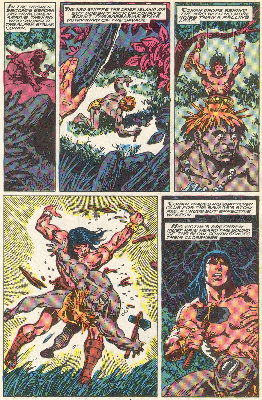 Conan the Barbarian (1970) Issue #218 #230 - English 8