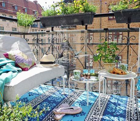 O che bel terrazzo marcondirondirondello architettura e - Immagini terrazzi arredati ...