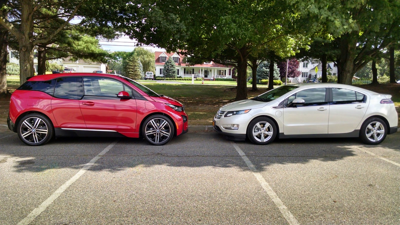 People Are Surprised When They See The I3 Next To Other EVs It Is Larger Than I Believe Many Think
