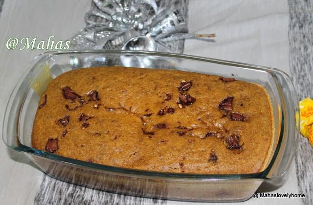 Peach Almond Custard Cake
