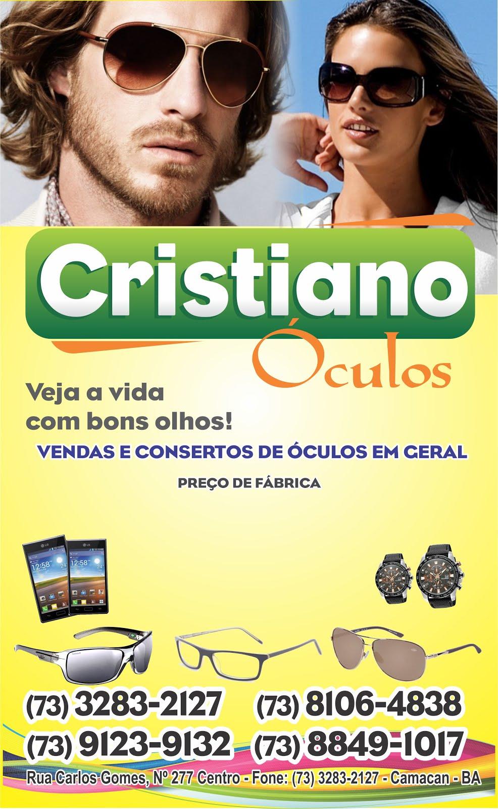 Cristiano óculos-Veja a vida com bons olhos! Loja em Camacan e atendimento na região
