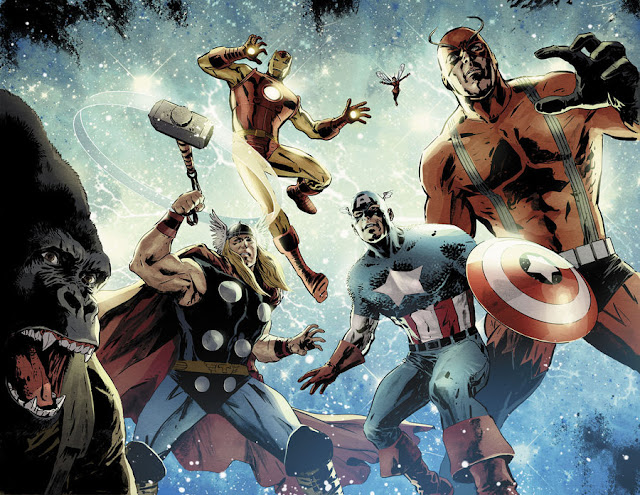Avengers vs. Atlas no. 1 por dismang
