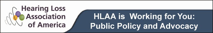 HLAA Public Policy and Advocacy