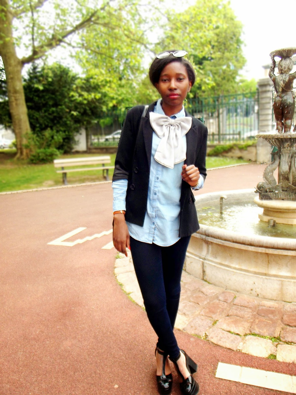Look Noeud Papillon Femme