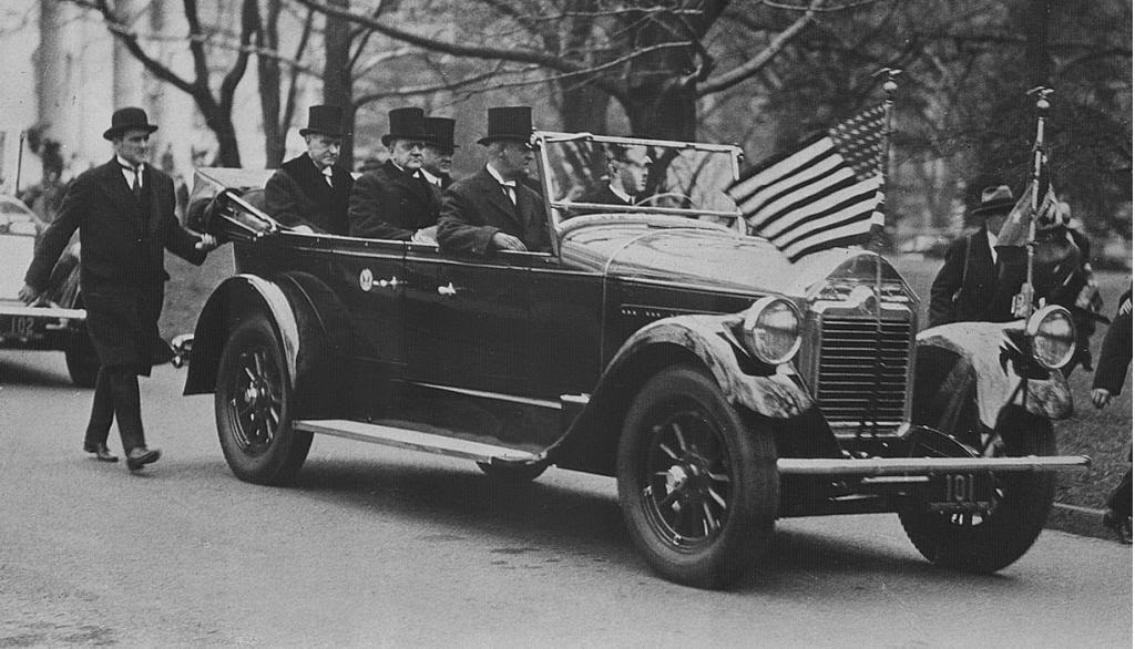 President Coolidge and Secret Service