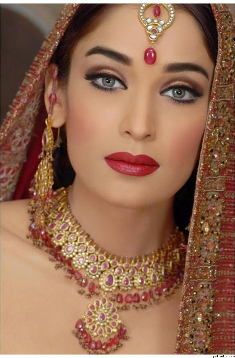 Allenora Bridal Makeup Pics Lahore : Bride Wedding Pictures: Allenora Bridal Makeup