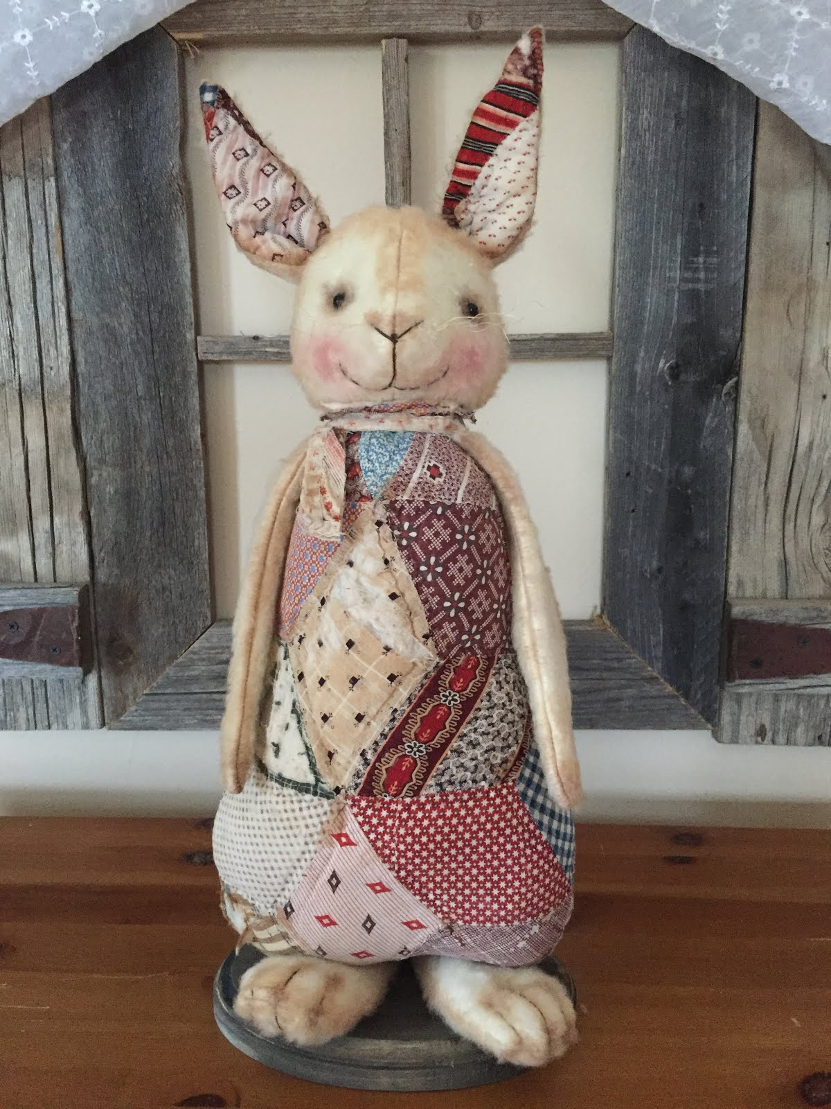 Antique Quilt Bunny