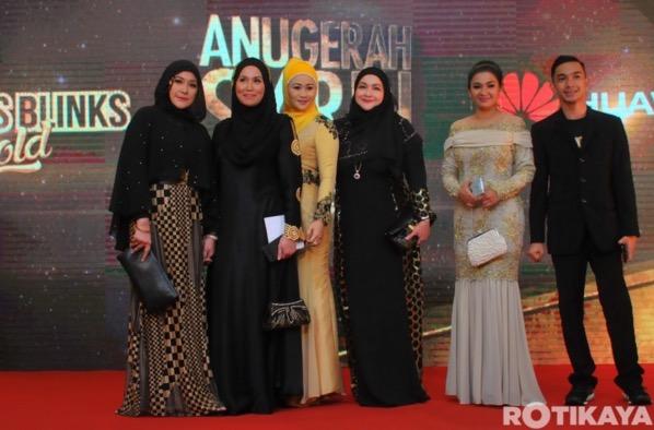 Penampilan Selebriti di Karpet Merah Anugerah Skrin 2015 (ASK2015)