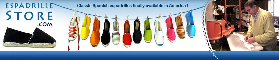 Alpargatas  artesanales de España disponibles en America USA alpargata