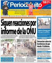 18/09/2020     PRIMERA PAGINA DIARIO DE VENEZUELA