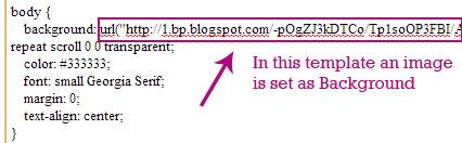 blogger background image