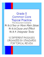 Common Core Grade 5 Topical Practice