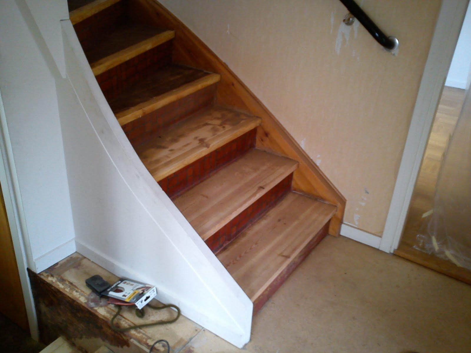 Sjögatan 22: trappan som aldrig blir klar.