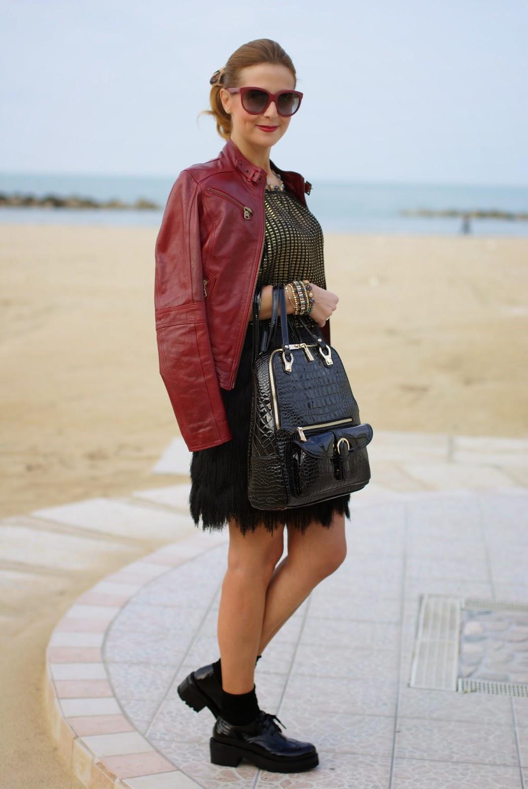 Sodini bijoux new fall winter collection, verysimple, Nando Muzi brogues, backpack trend, zaino verysimple, Fashion and Cookies, fashion blogger