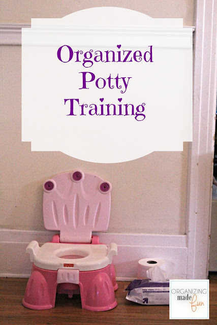 Organized Potty Training :: OrganizingMadeFun.com