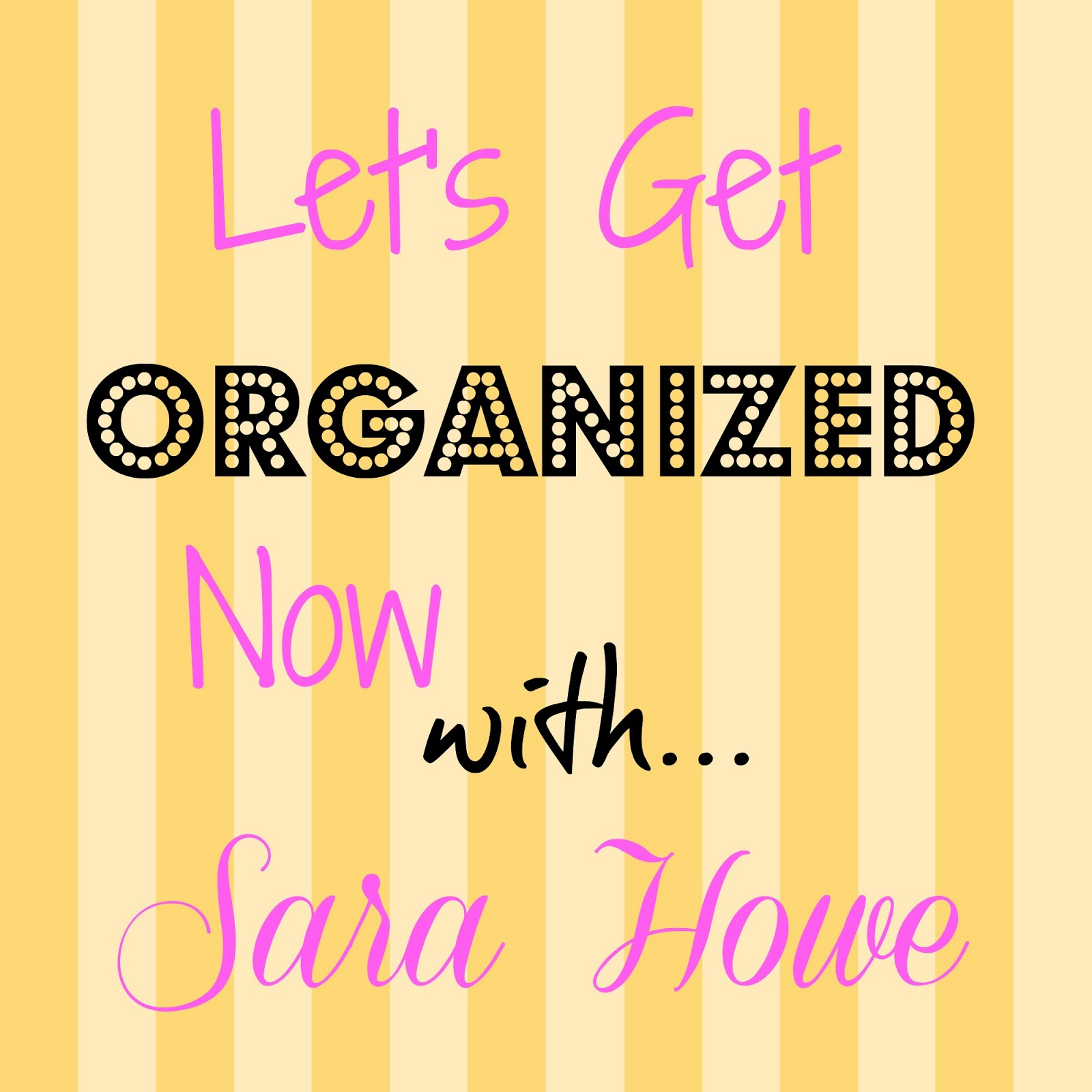 sara u0027s home life lets get organized now plus giveaway
