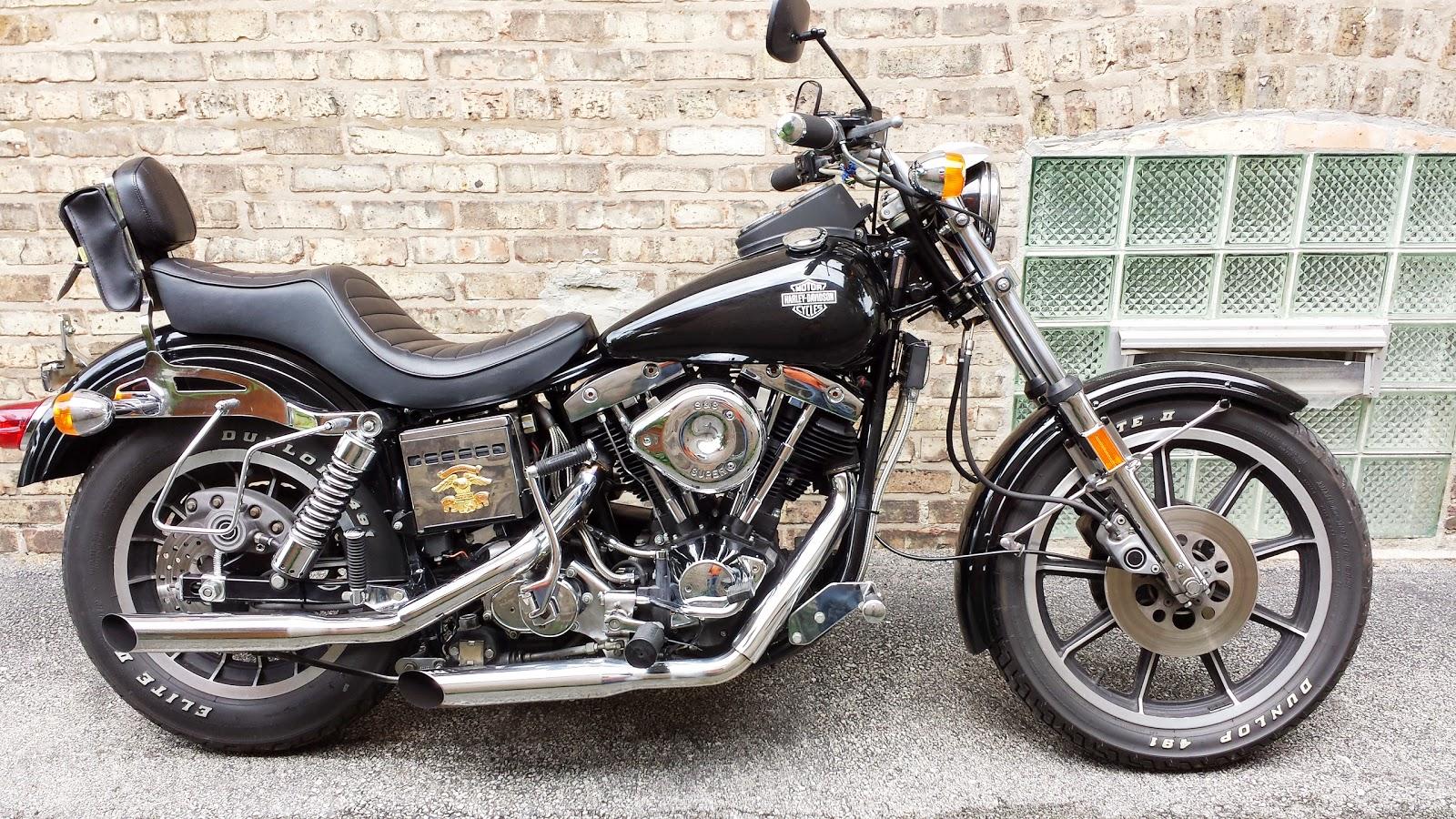 VINTAGE CYCLE GARAGE: 1979 Harley Davidson FXS-1200 Lowrider ...