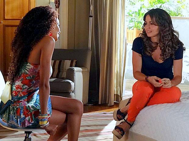 'Salve Jorge' - Morena Conversando com Sheila sobre a Viagem à Turquia