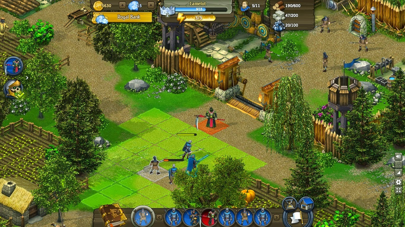 games free games online knights clash of heroes. Black Bedroom Furniture Sets. Home Design Ideas