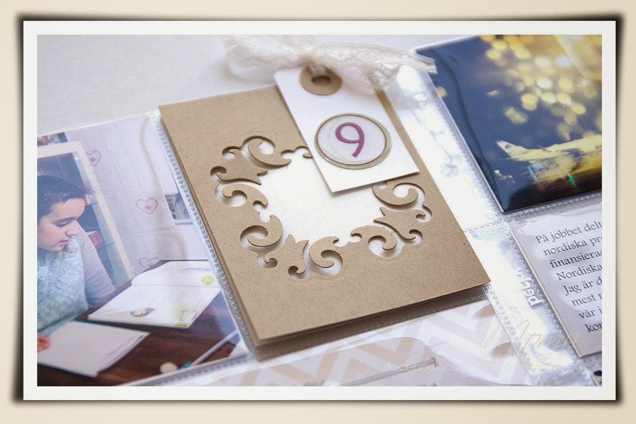 Project life, pocket scrapbooking, december daily, spellbinders, Becky Higgins, Simple stories