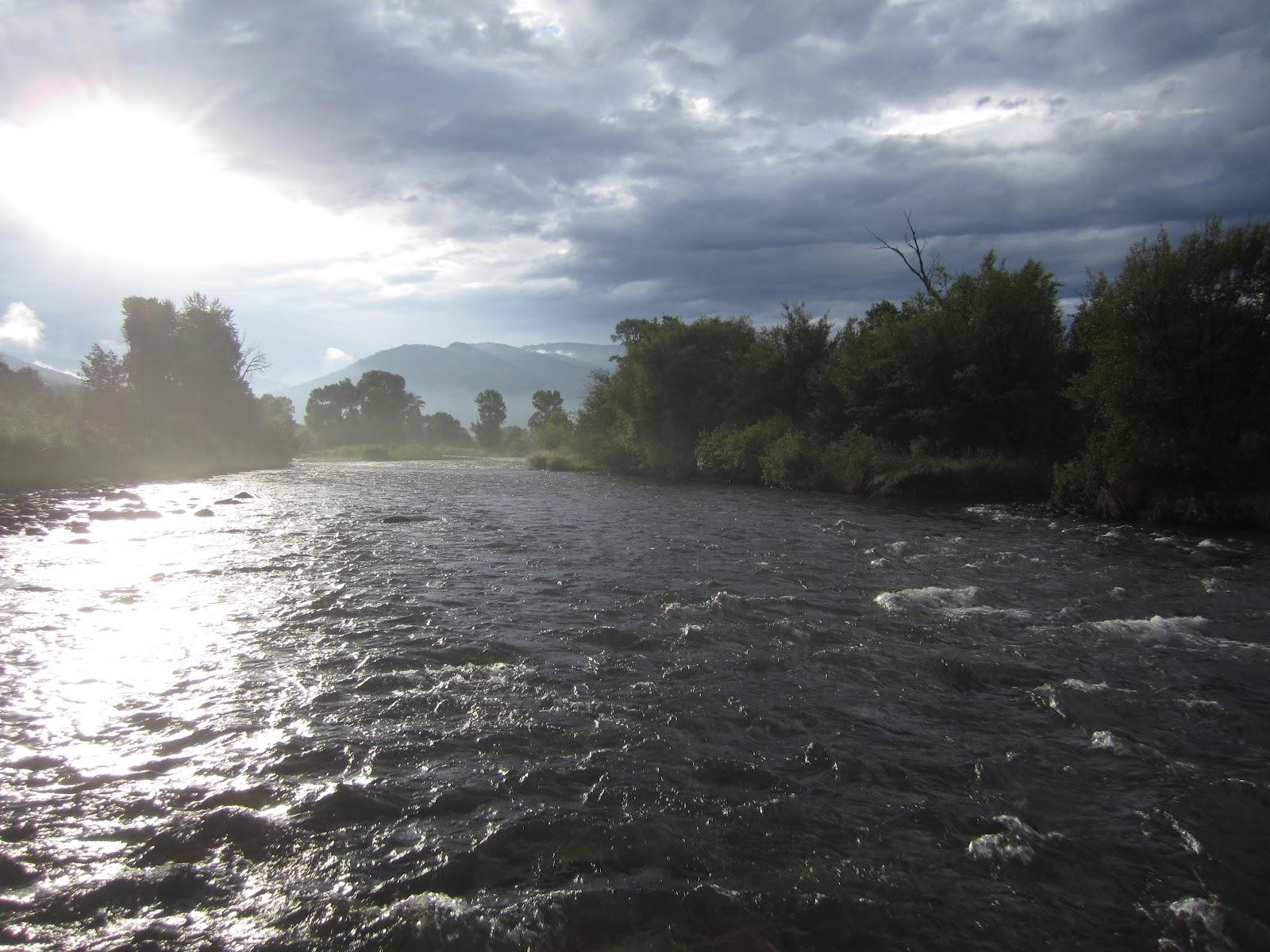 Jay scott outdoors roaring fork river fishing update for Roaring river fishing