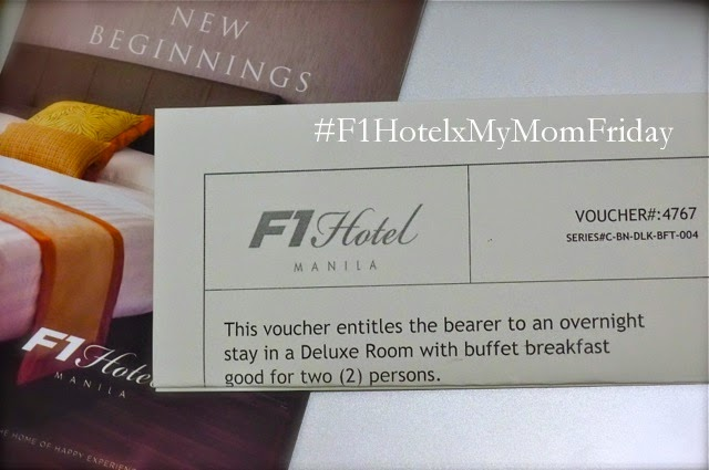 F1 Hotel + My Mom-Friday Blog Blowout