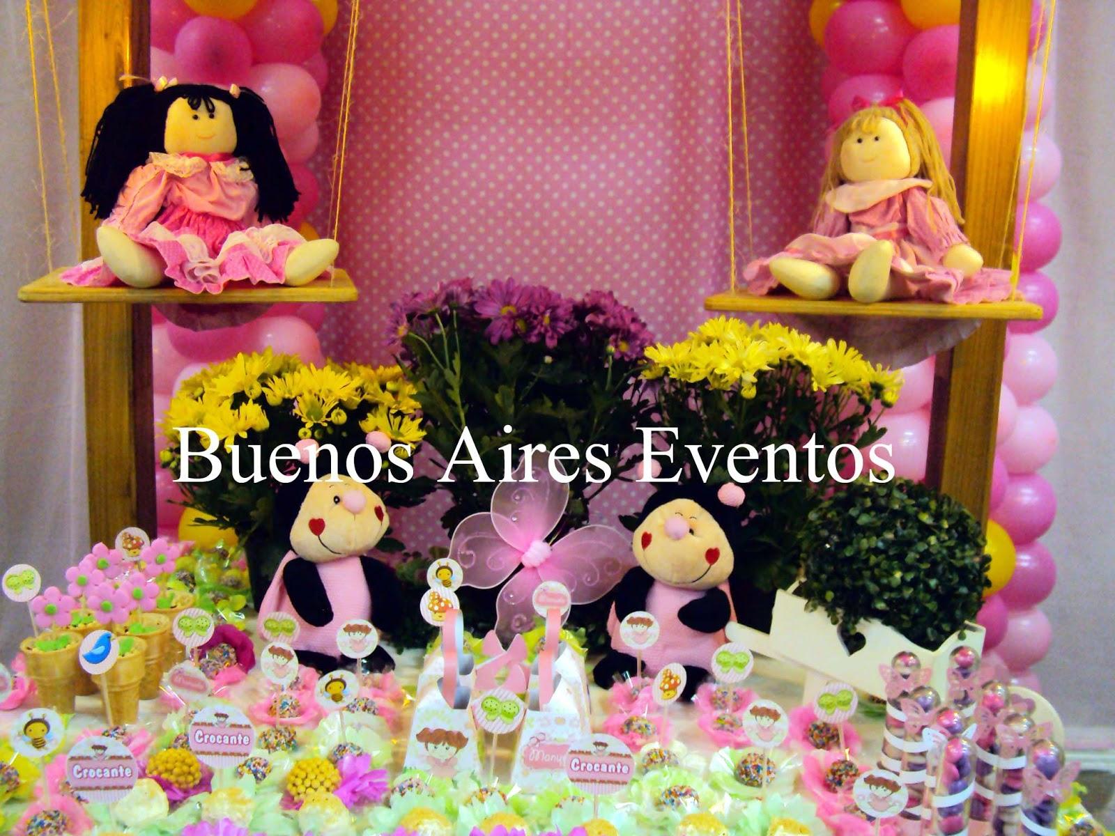 Decoração Viva Alegria O Jardim Encantado das Bonecas