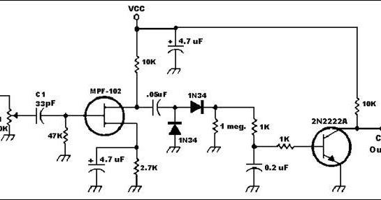 zoelradio  rangkaian detektor cos untuk gateway link dan