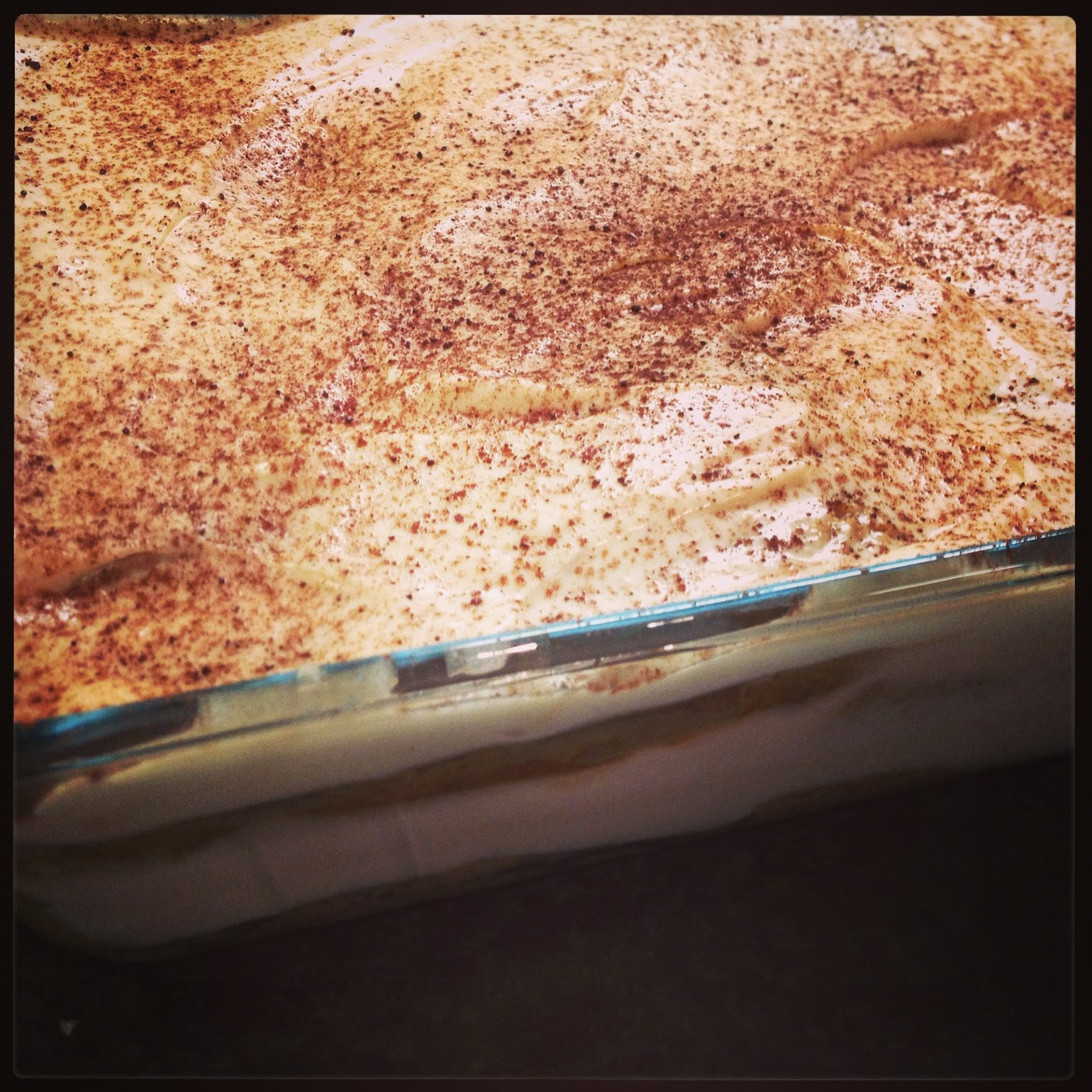 Kick At The Pantry Door: Nigella's Irish Cream Tiramisu