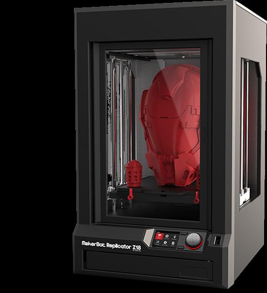 Makerbot Replicator  Build Volume