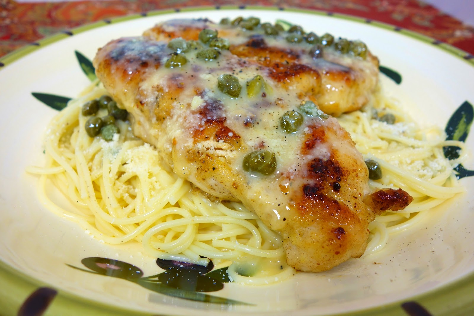 Chicken in lemon butter caper sauce plain chicken for Lemon butter caper sauce for fish