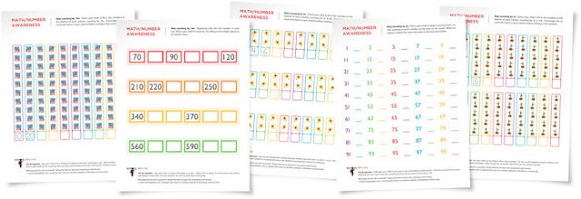 Teaching Blog Addict: FREE Skip Counting Worksheets