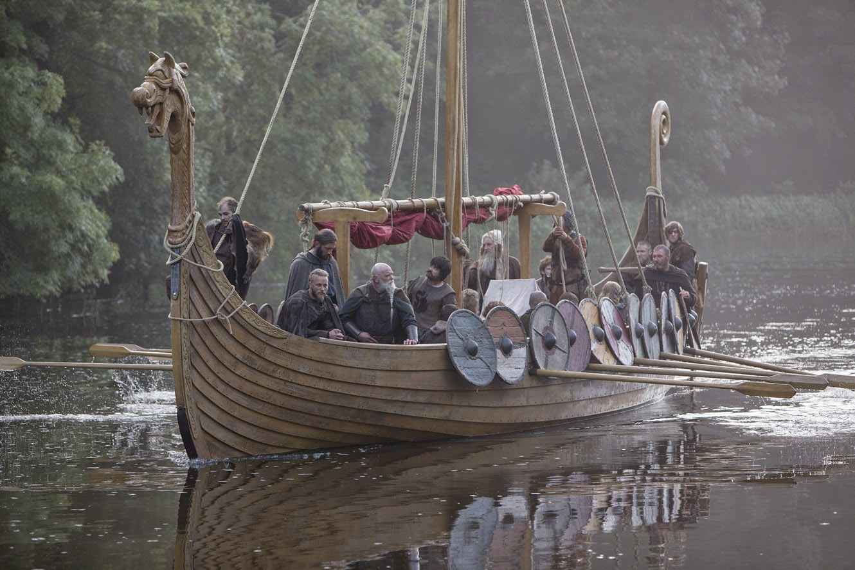 Vikingos_drakkar