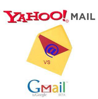 Keunggulan Gmail Berbanding Ymail