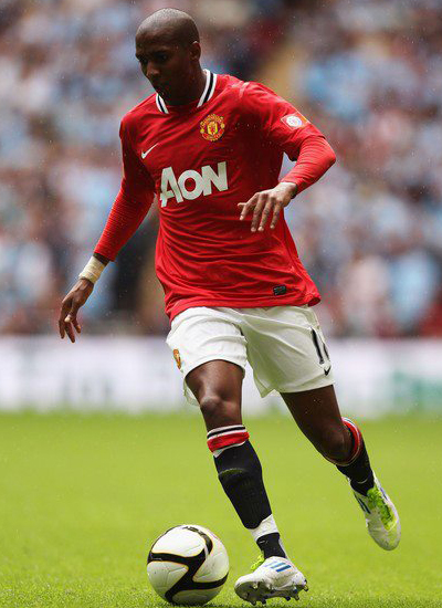 Ashley Young Manchester United v Manchester City Community Shield