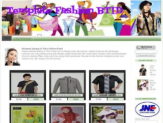 Blogger template fashion 2 kolom dari Tukang Toko Online