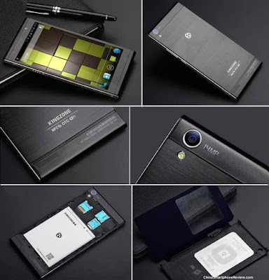 Kingzone K1 Turbo - Smartphone chinês verdadeiro