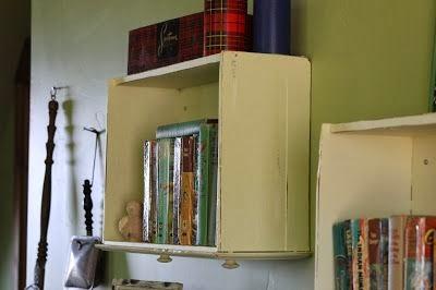 10 ideas para reciclar cajones mi casa inventada - Ideas para reciclar muebles viejos ...
